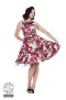 Audrey 50`s dream floral swing dressdress - audrey dress stl 4XL