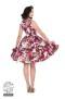 Audrey 50`s dream floral swing dressdress