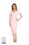 Rosella wiggle dress - rosella smal rosa dress stl 2XL