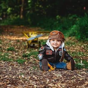 Fly bomber Jacket Kids - Flygar jacka stl 1år