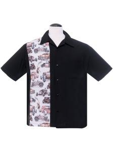 Steady Dragstrip - dragstrip skjorta Stl XS