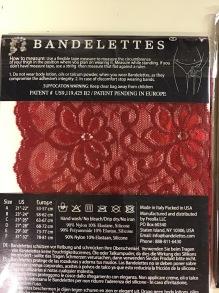 Brandelettes - Dolce röd stl A