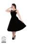 Velvet Romance Evening dress - velvet romance dress svart stl2XL