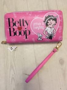 Plånbok, wallet Betty Boop - plånbok rosa betty