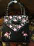 Flamingos DeLuxe  väska - flamingo väska