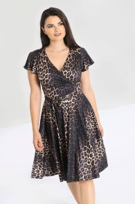 Eartha leopard dress - Eartha leopard dress stl XS