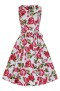 Sweet Rose Swing dress