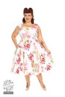 Rose Paradise swing dress