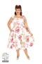Rose Paradise swing dress - rose paradise dress stl 6XL