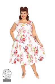 Rose Paradise swing dress - rose paradise dress stl 2XL