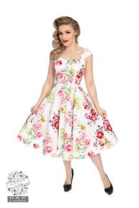 Rose Paradise swing dress - rose paradise dress stl XS