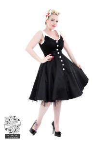 Black Elegance Day Dress - black elegance day dress stl XS