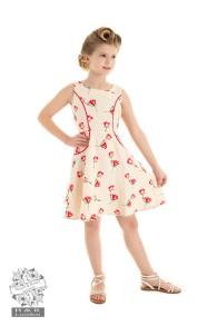 Sorella summer swing dress - sorella kids dress stl 3-4
