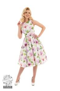 Gloria Floral swing dress - gloria klänning stl S