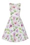 Gloria Floral swing dress