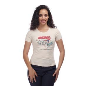 Arizona t-shirt - arizona t-shirt cream stl XXS (6)