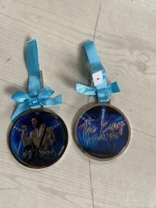 Elvis ornament - elvis ornament blå
