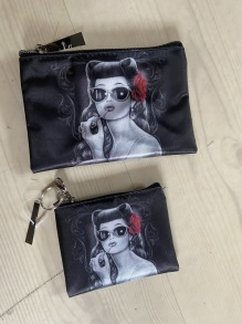 Rockabilly Girl make up bag - RockabillyGirl make up bag