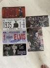 Elvis license plate