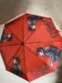 Elvis paraply, umbrella - elvis paraplyn rött