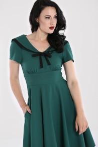 Thea dress - thea dress grön stl XS