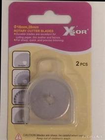 Rullknivsblad 28 mm 2-p