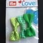 Prym Love 3-p rosetter, välj färg - Rosetter 3-p grön