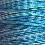 Flerfärgad tråd,välj färg - Blå regnbåge