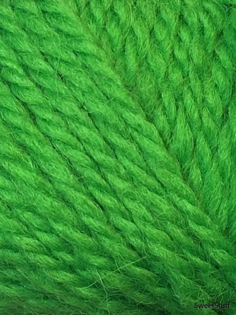 ullgarn grön