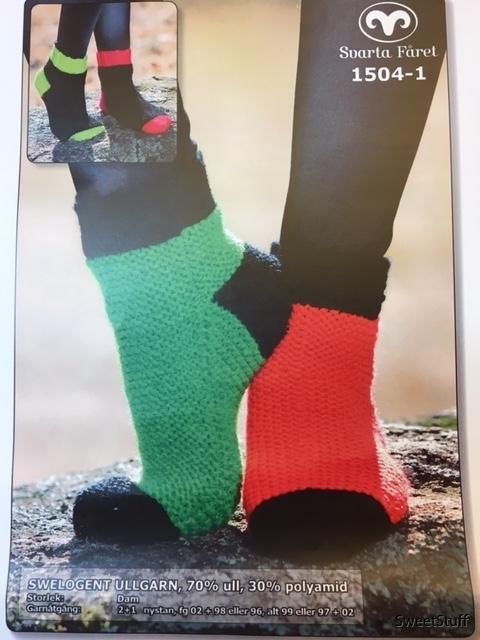 mönster sockor