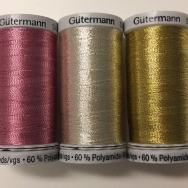 Metallictråd 500m välj färg