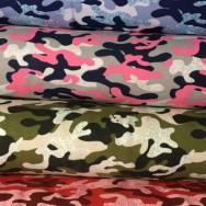 Glitterkamouflage, välj färg