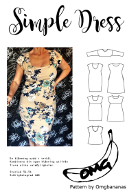Simple Dress stl 34-54