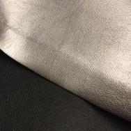 Skinnimitation stretch, silvergrå