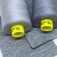 ÖKOTEX ljusgråmelerad 5m (end 35mm)