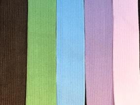 Mjuk, färgad resår 20mm, välj färg