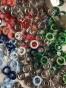 NYA ! Ringknappar 8 mm, välj färg