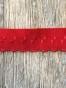 Trosresår/vikresår ca 1cm x 2, välj färg - Röd