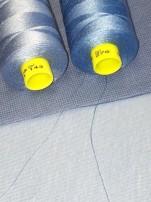 ÖKOTEX Dusty blue 5m, välj bredd