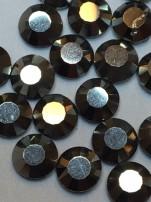 Rhinestones 3,8-4mm, 50 st hematit