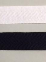 Bomullsband 15 mm,välj färg