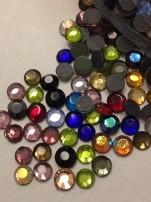 Rhinestones 3,8-4mm mixade färger, välj antal