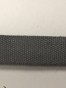 Bomullsband 12mm, välj färg - Bomullsband grå