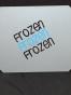 Isskrapor , välj tryck - Frozen grå/svart/blå