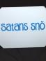 Isskrapor , välj tryck - Satans snö vit/blå
