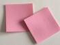 Lappar i fuskskinn 2-p, välj färg - 2-p rosa