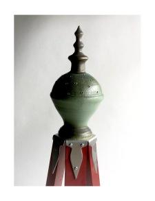 Keramikknopp -