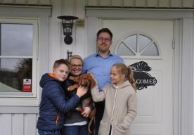 Aaro, Petra, Niilo & Saara med LEO