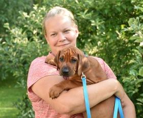 Heidi med Jasper