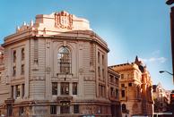 Bizkaiabiblioteket i Bilbao, Spanien